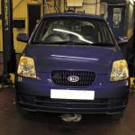 How to replace a clutch on a Kia Picanto