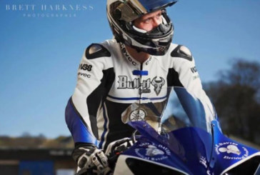 Traction Charger sponsors Michael Howarth at British Superbikes