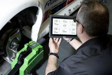 Bosch – Motorsport wheel alignment tool