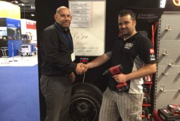 Kirk Davies is Manchester CP Pit Stop Challenge Champion