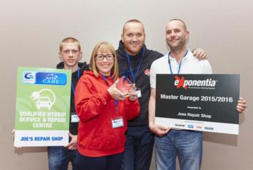 Surrey Garage runner up in Garage of the Year award