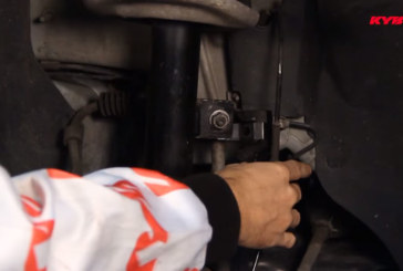How to correctly fit front shock absorbers on Citroen C4 and Peugeot 3008
