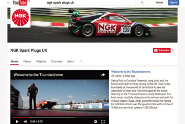 NGK Spark Plugs launches YouTube channel