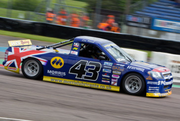 Wood hits top form in the British Pickup Racing Championship
