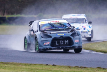 Morris Lubricants supports the meteoric rise of rallycross star