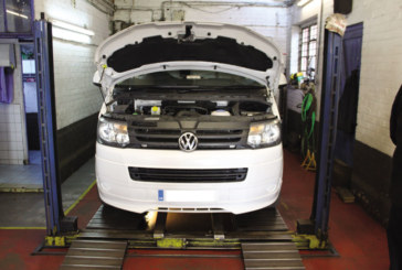 How to undertake a belt replacement on a VW transporter