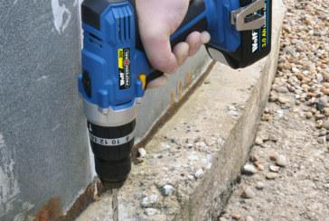 Wolf Tools  – 20v Li-Ion cordless – Combi Impact Drill/Driver & Impact Driver