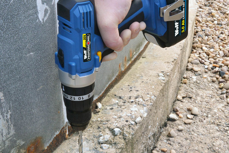 Wolf Tools  – 20v Li-Ion cordless – Combi Impact Drill/Driver & Impact Driver