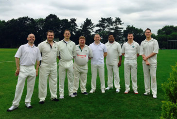 BEN bowled over by annual cricket match