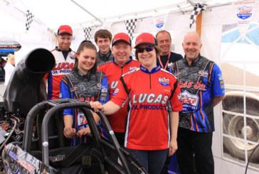 Lucas Oil represents at Santa Pod Raceway Main Event