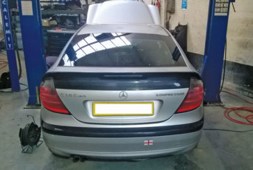How to fit a clutch on a Mercedes Kompressor Coupe