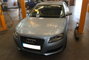 How to fit a clutch on an Audi A3
