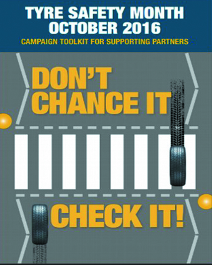 Don't Chance It, Check It! – Tyre Safety Month