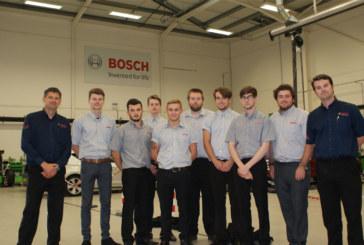Bosch's First Ever Automotive Apprentices Graduate