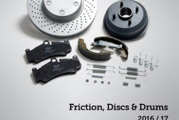 Delphi Releases Friction, Discs & Drums Catalogue