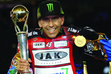 Speedway Star Greg Hancock Celebrates Fourth World Title Win