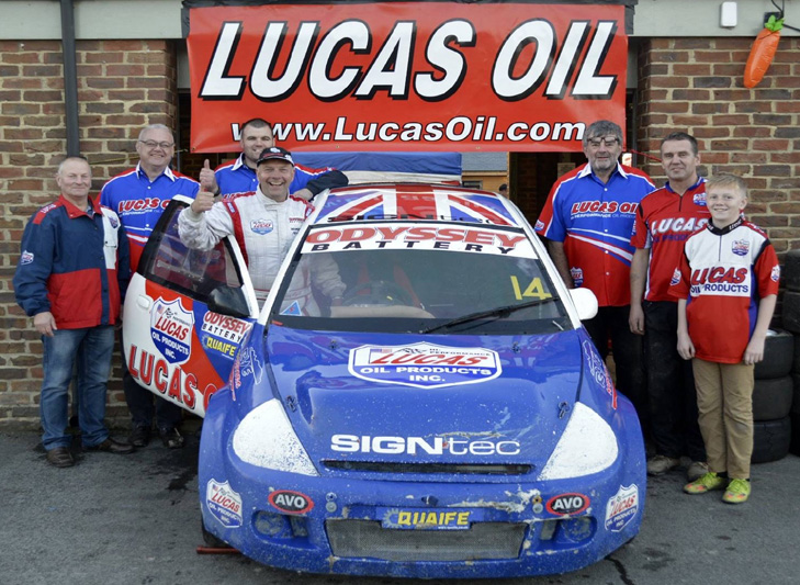 MSA British Rallycross Glory for Lucas Oil Team Geriatric