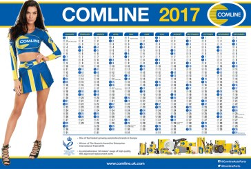 Win a Comline Wall-Planner with PMM Online!