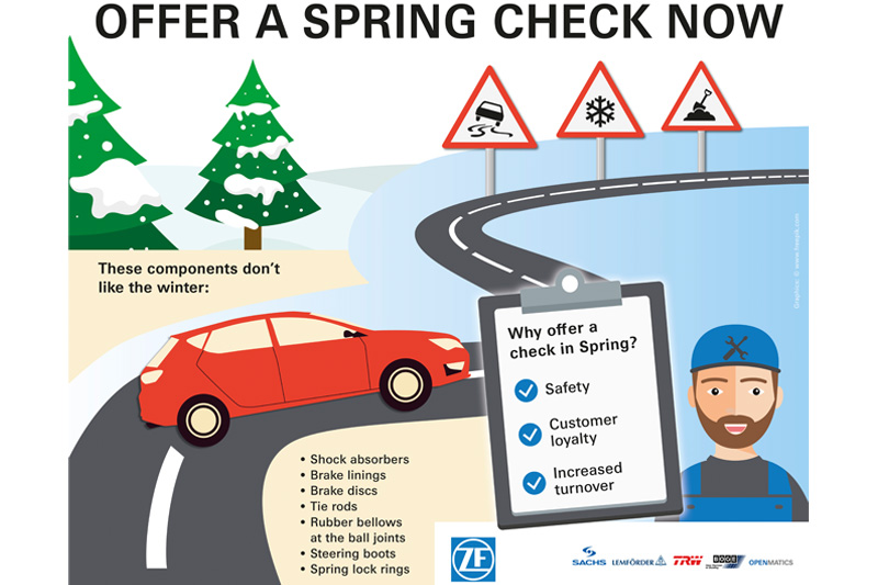 Stay Safe with Spring Vehicle Checks