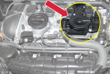 Power Loss as a Result of Defective Crankcase Ventilation