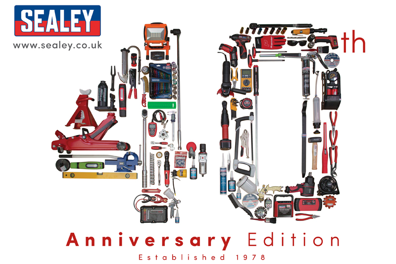 Sealey 40th Anniversary Promotion