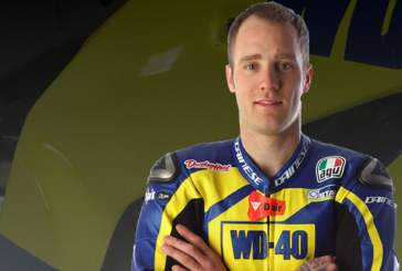 Traction Charger Sponsors Tommy Bridewell at British Superbikes 2018
