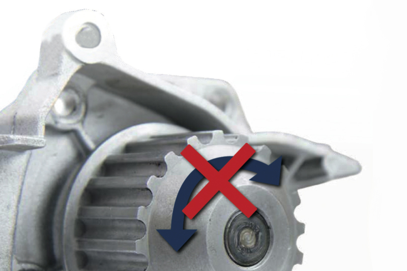 Water Pumps; Typical Damage Patterns & Causes