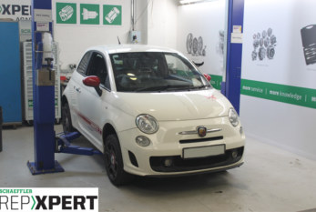 How to Fit a Clutch on a Fiat 500 Abarth