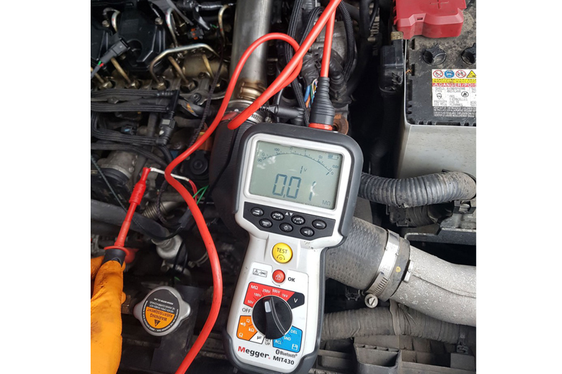 Faulty Piezo Injector on a Nissan X-Trail