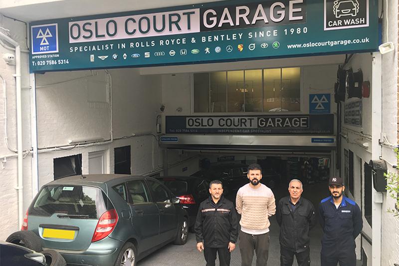 Oslo Court Garage