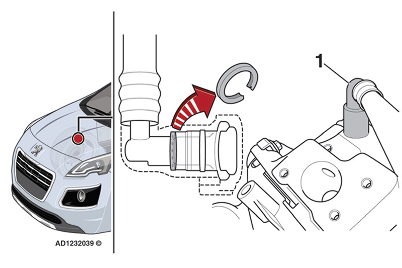 Engine malfunction indicator lamp (mil) illuminates whilst driving a Peugeot 3008