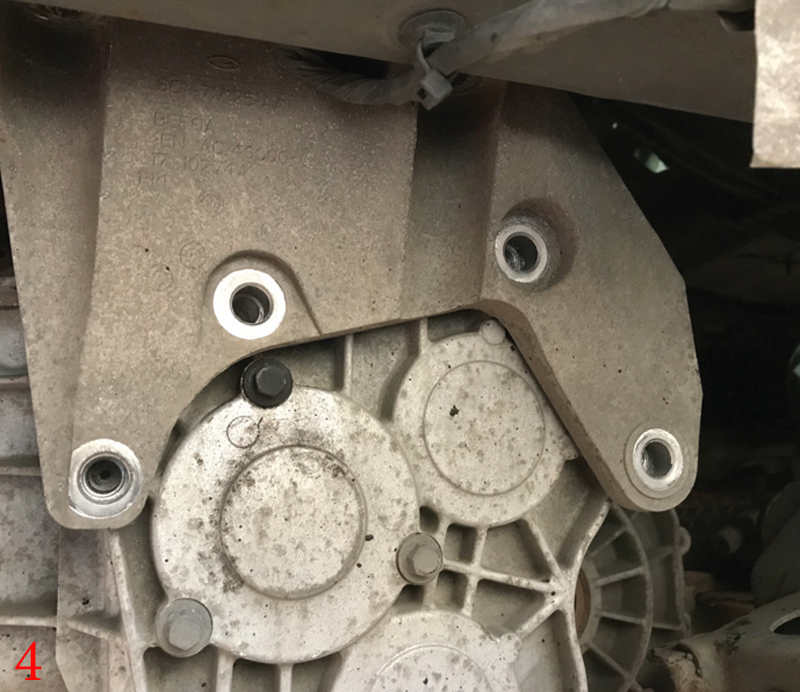 How to replace the clutch on a Ford Transit