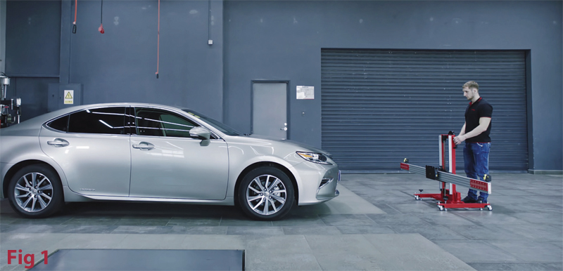 ADAS Made Easy - Lexus Lane Camera calibration