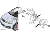 Metallic clicking noise from front wheels on a Seat Alhambra – AUTODOCTA