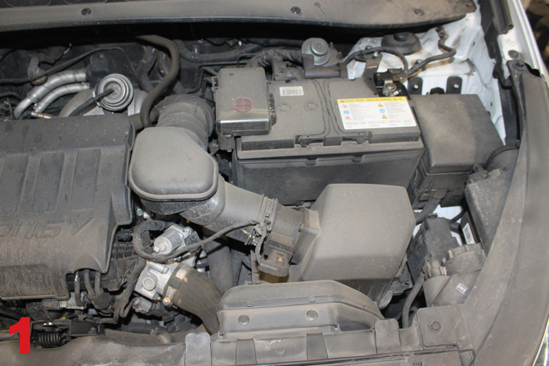How to replace the clutch on a Kia Sportage