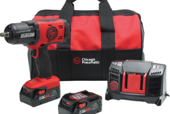 WIN! Chicago Pneumatic cordless impactwrench kit