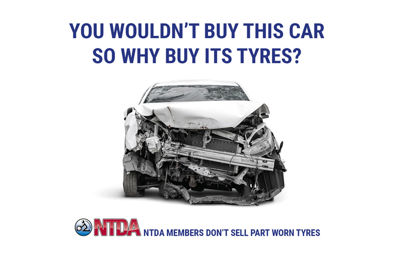 NTDA launches campaign against part worn tyres