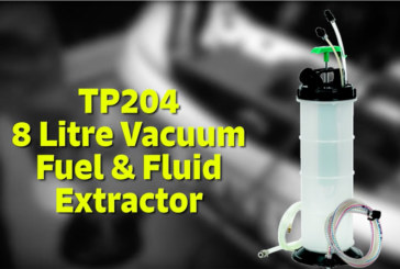 Sealey TP204 8 Litre Vacuum Fuel & Fluid Extractor