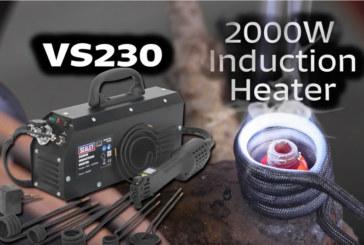 Sealey VS230 2000 Watt Induction Heater