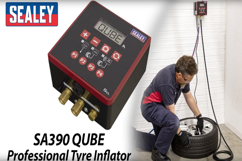 Sealey Qube Professional Tyre Inflator