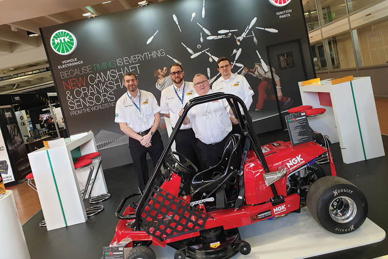 NGK showcases components at MECHANEX