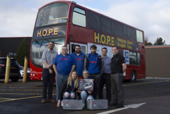 GS Yuasa offers support to homeless group