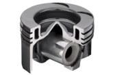 Steel pistons