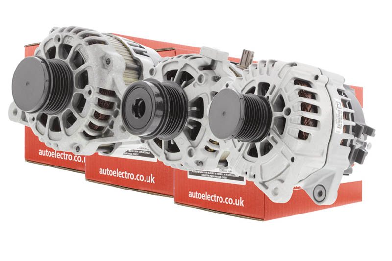Autoelectro introduces three alternators