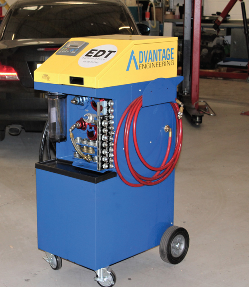 EDT demonstrates its engine treatment capabilities
