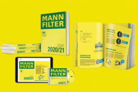 Mann-Filter catalogue now available
