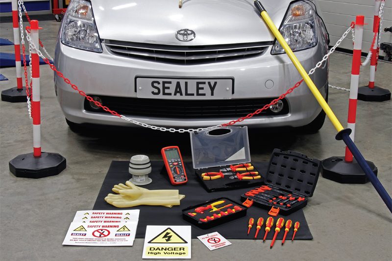 Sealey takes a look at hybrid vehicle maintenance