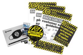 OESAA distributes 3,000 garage packs