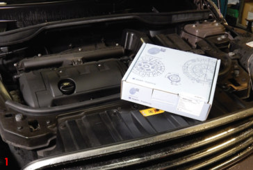 Blue Print replaces the clutch on a MINI