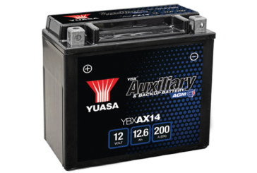 GS Yuasa releases AGM auxiliary battery
